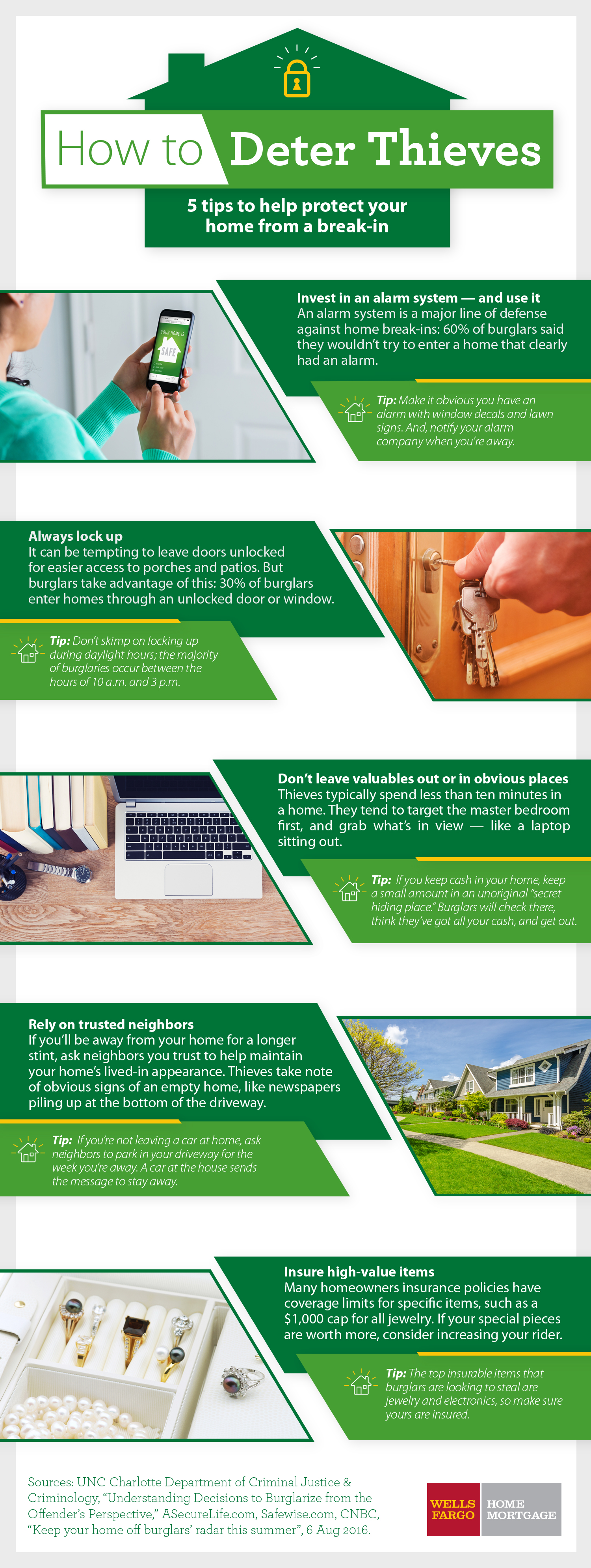 5 of the Best Home Security Tips - How to Deter Thieves